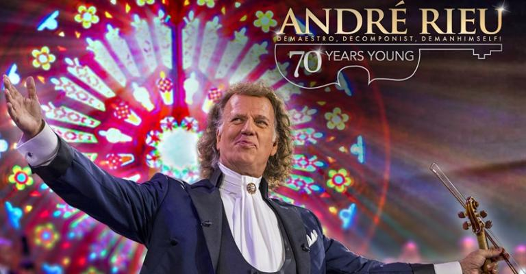 ANDRÉ RIEU: 70 YEARS YOUNG - 18 & 19 JANUARI 2020
